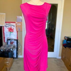 Micheal Kors Hot Pink Dress M